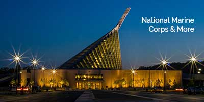 Museum Lighting for National Marine Corps