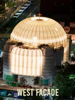 Saint Nicholas Greek Orthodox Church - West Facade